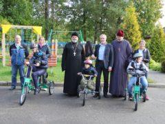 Воспитанники Центра лечебной педагогики Псковской области получили подарки от Псковской епархии.