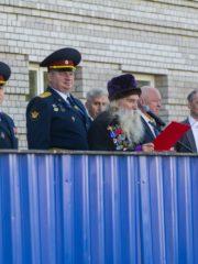 Новый учебный год в Псковском филиале Академии ФСИН России начался с водосвятного молебна.