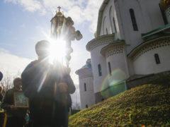 13 октября 2019 года состоялся традиционный ежемесячный крестный ход вокруг города Пскова.