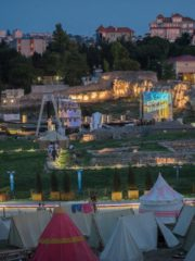 Новую открытую сцену планируется построить при расширении «Херсонеса Таврического»