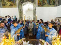 14 октября 2019 года, в праздник Покрова Пресвятой Богородицы, митрополит Псковский и Порховский Тихон совершил Божественную Литургию в храме Покрова Пресвятой Богородицы (от Торгу) города Пскова.