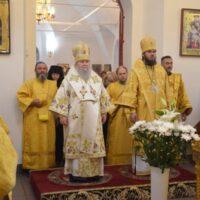 13 июня 2018 года, в день 5-летия своей архиерейской хиротонии, епископ Великолукский и Невельский Сергий совершил Божественную литургию в Свято-Вознесенском кафедральном соборе города Великие Луки.