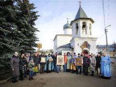 23 ноября 2019 года состоялся традиционный ежемесячный крестный ход вокруг города Пскова.