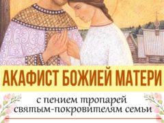 Молодежный отдел Псковской епархии приглашает всех желающих помолиться об устроении личной жизни на Акафисте Божией Матери с пением тропарей святым-покровителям семьи.