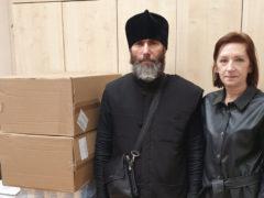 Центр социального обслуживания Псковского района получил средства реабилитации от Псковской епархии.