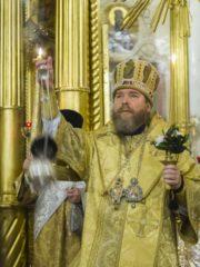 Вечером 14 декабря 2019 года, накануне Недели 26-й по Пятидесятнице, митрополит Псковский и Порховский Тихон возглавил Всенощное бдение в Свято-Успенском Псково-Печерском монастыре.