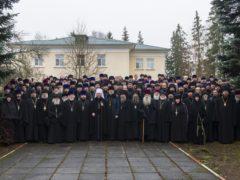 С 23 по 24 декабря 2019 года в Псковской епархии под председательством митрополита Псковского и Порховского Тихона прошло епархиальное собрание.