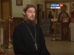 Клирик Троицкого собора иеромонах Анастасий (Байков) дал интервью телеканалу «Россия. Псков» о празднике Крещения Господня