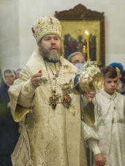 Вечером 6 января 2020 года, накануне Рождества Христова, митрополит Псковский и Порховский Тихон возглавил Великое повечерие и Утреню в Свято-Троицком кафедральном соборе города Пскова.