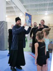 Видеорепортаж с открытия спортзала при Паломническом центре Псково-Печерского монастыря