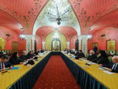 Митрополит Псковский и Порховский Тихон принял участие в работе пленума Межсоборного присутствия Русской Православной Церкви.