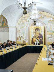 Митрополит Псковский и Порховский Тихон принял участие в заседании Патриаршего совета по культуре