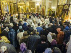 В Псково-Печерском монастыре молитвенно почтили память старца архимандрита Иоанна (Крестьянкина)