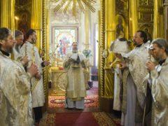 Аудиозапись: Божественная литургия в день преставления приснопоминаемого старца архимандрита Иоанна (Крестьянкина) 5 февраля 2020 года
