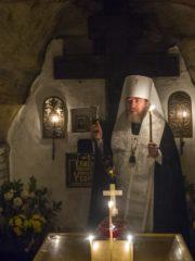 Новопреставленный раб Божий Алексей. Молитва в Псково-Печерском монастыре