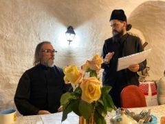 31 января 2020 года в храме Вознесения Христова города Пскова было совершено чтение акафиста прп. схимонаху Кириллу и схимонахине Марии об устроении семейной жизни.