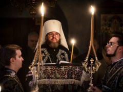 Чтение Великого Канона в четверг 1-й седмицы Великого поста. Видео