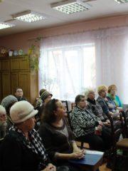 В прощеное воскресенье в городе Острове в актовом зале Островской центральной библиотеки прошла очередная встреча православно-литературного клуба «Родник».