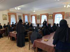 Митрополит Тихон посетил Спасо-Елеазаровский монастырь