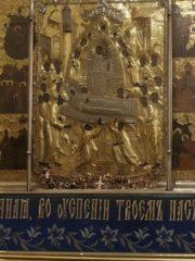 Вечернее богослужение с акафистом Пресвятой Богородице. Похвала Пресвятой Богородицы. Трансляция богослужения
