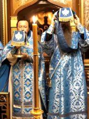 Литургия Похвалы Пресвятой Богородицы (Субботы Акафиста). Трансляция богослужения