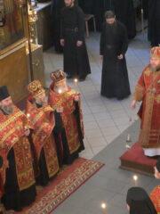 Праздник святителя и Чудотворца Николая. Всенощное бдение.Трансляция богослужения