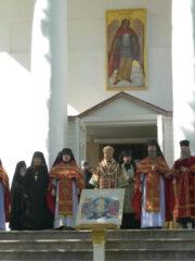 Отдание Пасхи. Божественная литургия пасхальным чином. Трансляция богослужения