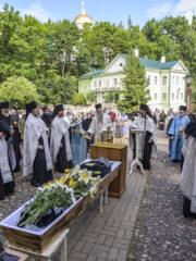 28 июля 2020 года в Свято-Успенском Псково-Печерском монастыре состоялось отпевание старейшего насельника обители монаха Мартирия (Шубина)