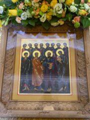 Божественная литургия. Собор славных и всехвальных 12-ти Апостолов. Прямая трансляция богослужения