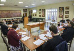 Прошли вступительные испытания на заочное отделение Санкт-Петербургской духовной академии с проживанием при Свято-Успенском Псково-Печерском монастыре