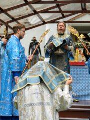Божественная литургия в праздник Успения Пресвятой Богородицы. Прямая трансляция богослужения