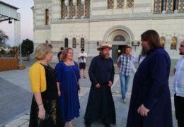 Министр культуры Ольга Любимова и митрополит Тихон провели совещание по развитию Херсонеса Таврического
