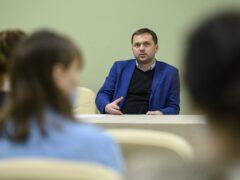 В рамках проекта «Школа волонтеров наследия» в Пскове прошло очередное лекционное занятие