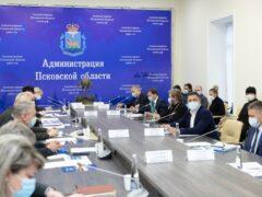 Митрополит Тихон принял участие в совещании по восстановлению объектов культурного наследия Псковской области