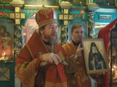 Слово митрополита Псковского и Порховского Тихона в празднвание освящения храма великомученика Георгия Победоносца