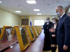 Совбез РФ передал Псково-Печерскому монастырю уникальные иконы, вывезенные нацистами
