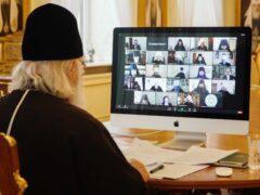 Митрополит Псковский и Порховский Тихон принял участие в заседании Высшего Церковного Совета Русской Православной Церкви