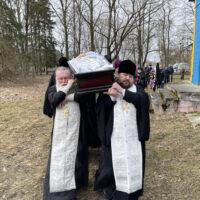В храме святителя Николая города Пыталово состоялось отпевание протоиерея Иоанна Катуна