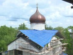 Реставрация Храма Козьмы и Дамиана с Примостья идёт полным ходом