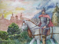 Подведены итоги Епархиального конкурса детских рисунков, посвященного празднованию 800-летия со дня рождения святого благоверного князя Александра Невского