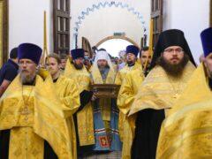 Состоялось принесение мощей святого благоверного великого князя Александра Невского на Псковскую землю