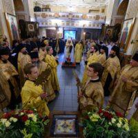 Состоялось принесение мощей святого благоверного великого князя Александра Невского в Псково-Печерский монастырь