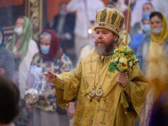 23 июля 2021года, накануне дня памяти святой равноапостольной княгини Ольги, митрополит Псковский и Порховский Тихон возглавил Всенощное бдение в Свято-Троицком кафедральном соборе города Пскова