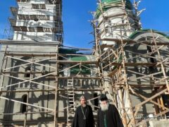 5 июля 2021 года митрополит Псковский и Порховский Тихон, глава Псковской митрополии, посетил Великолукскую епархию