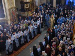 28 августа 2021 года, накануне Недели 10-й по Пятидесятнице, митрополит Псковский и Порховский Тихон возглавил Всенощное бдение в Свято-Успенском Псково-Печерском монастыре.