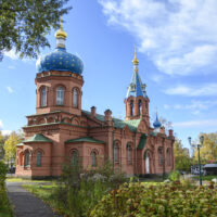 12 сентября 2021 года состоится великое освящение храма святого князя Александра Невского в городе Пскове